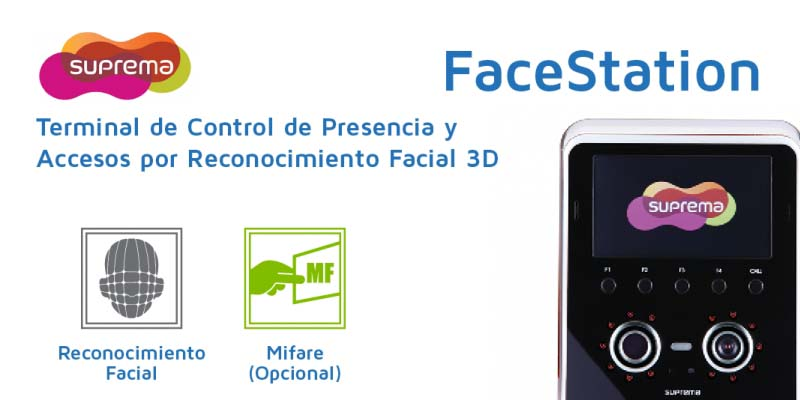Suprema FaceStation - Control de Accesos Facial 3D